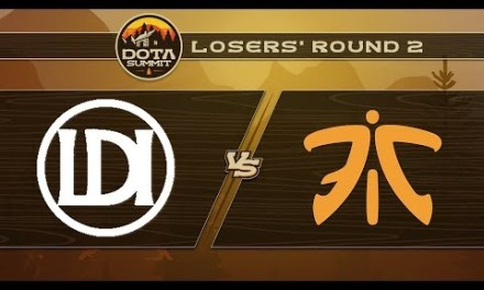 Let's Do It vs Fnatic Game 1 – DOTA Summit 9: Losers' Round 2