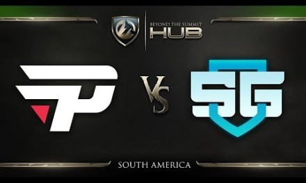 paiN Gaming vs SG e-sports Game 5 – TI8 South America Qualifiers: Grand Finals