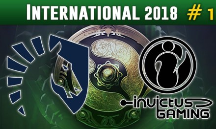 Liquid vs Invictus Gaming #1 – The International 2018