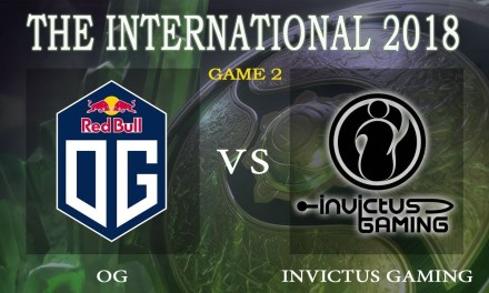 OG vs Invictus Gaming game 2 – The International 2018, Group A Day 3 – Dota 2