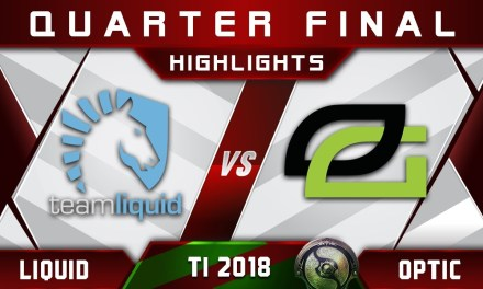 Liquid vs OpTic TI8 Quarter Final The International 2018 Highlights Dota 2