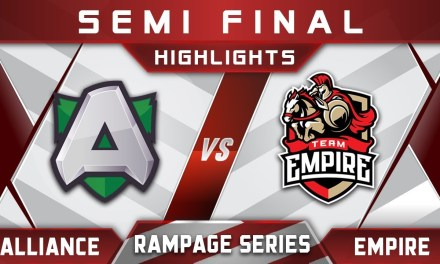 Alliance vs Empire Semi Final Rampage Series 2018 Highlights Dota 2
