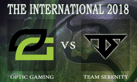 Optic vs Serenity game 1 – The International 2018, Lower Bracket R2 – Dota 2