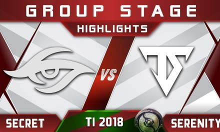 Secret vs Serenity TI8 The International 2018 Highlights Dota 2