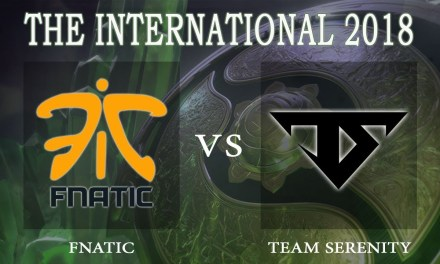 Fnatic vs Serenity BO1 – The International 2018, Lower Bracket Round 1 – Dota 2