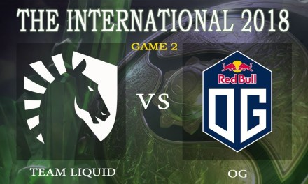 Liquid vs OG game 2 – The International 2018, Group A Day 1 – Dota 2