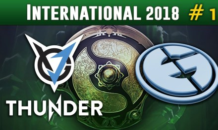 Evil Geniuses vs VGJ.Thunder #1 (no commentary) | The International 2018 Group Stage Dota 2