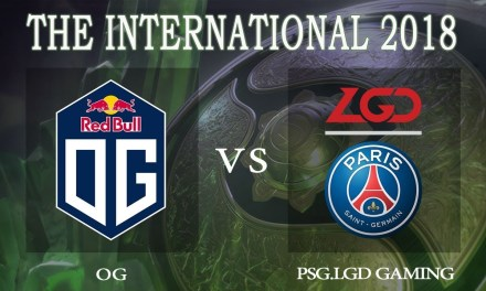 PSG.LGD vs OG game 1 – The International 2018, Upper Bracket Finals – Dota 2