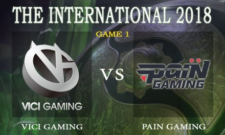 Vici Gaming vs Pain game 1 – The International 2018, Group B Day 3 – Dota 2