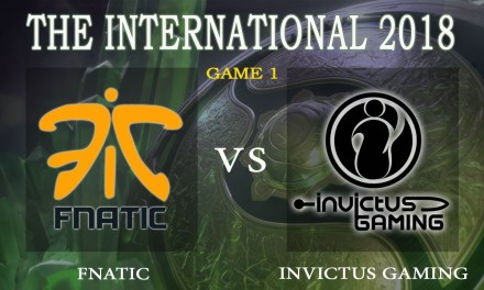 Fnatic vs iG game 1 – The International 2018, Group A Day 2 – Dota 2