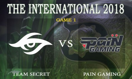 Secret vs Pain game 1 – The International 2018, Group B Day 2 – Dota 2