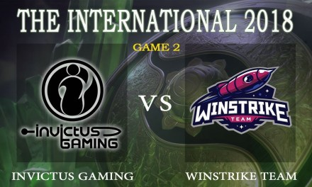 Win Strike vs IG game 2 – The International 2018, Group A Day 1 – Dota 2