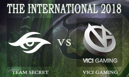 Secret vs Vici Gaming game 1 – The International 2018, Lower Bracket Round 2 – Dota 2