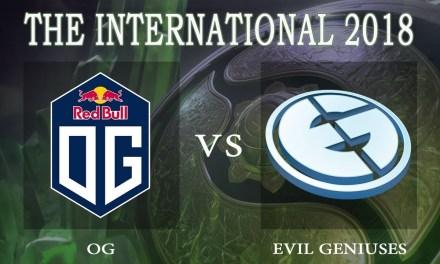 OG vs EG game 2 – The International 2018, Upper Bracket Semifinal – Dota 2