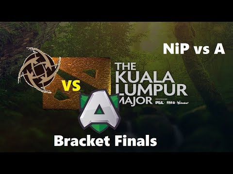 [1440p] NiP vs  Alliance | KL Major Lower Bracket Finals Bo3