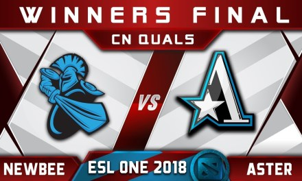 Newbee vs Aster Winners Final CN ESL One Hamburg 2018 Highlights Dota 2