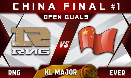 RNG (343+ahfu) vs EVER Final CN #1 Kuala Lumpur Major Highlights Dota 2