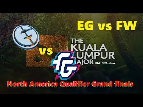 EG vs Forward | KL Major North America Qualifier Grand finals Bo3 | 1440p60