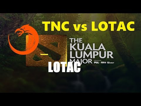 [1440p] TNC vs Lotac Game 1 + 2 | Kuala Lumpur Major Southeast Asia Qualifier Lower Finals Bo3