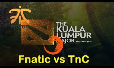 [1440p] Fnatic vs TNC | KL Major Southeast Asia Qualifier Upper Finals Bo3