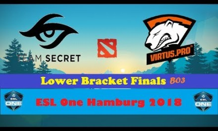 Secret vs Virtus.Pro | ESL One Hamburg 2018 | Lower Bracket Finals Bo3