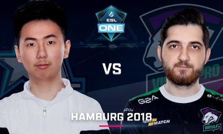 Dota 2 – Aster vs. Virtus.Pro – Group B – Game 2 – Day 1 – ESL One Hamburg 2018
