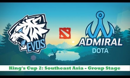 EVOS vs ADMIRAL | King's Cup 2: Southeast Asia – Group Stage Day 6 Bo2