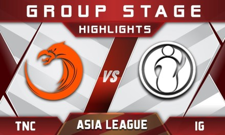 TNC vs IG Asia Pro League APL 2018 Highlights Dota 2
