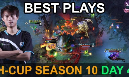 H-Cup Season 10 BEST PLAYS DAY 4 Highlights Dota 2 by Time 2 Dota #dota2 #hcup