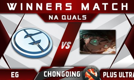 EG vs Plus Ultra (EE+Fear) Chongqing Major 2018 NA Highlights Dota 2