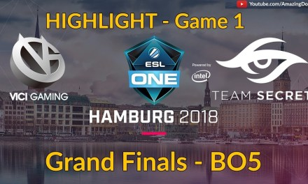 [Highlights] Vici Gaming vs Team Secret | GAME 1 | Grand Finals | ESL One Hamburg 2018