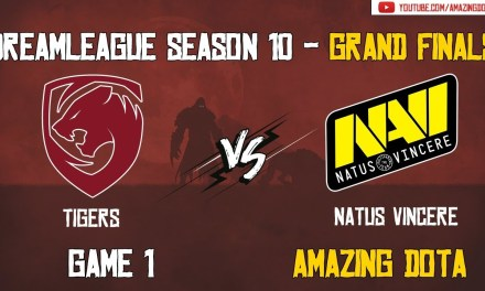 [Full Match] Tigers vs Natus Vincere | Grand Finals – GAME 1 | DreamLeague Season 10 | Amazing Dota