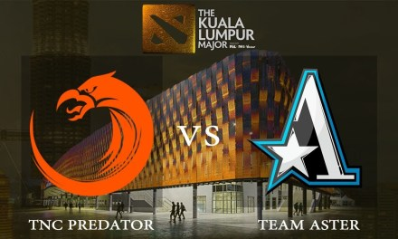 TNC vs Aster game 2 – Group B Losers' Match, The Kuala Lumpur Major – Dota 2