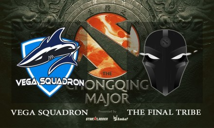 Vega Squadron vs The Final Tribe game 2 – The Chongqing Major EU Qualifiers, Group A – Dota 2