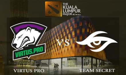 Virtus.pro vs Team Secret game 3 – The Kuala Lumpur Major, Grand Finals – Dota 2