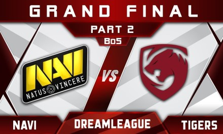 Tigers vs NaVi Grand Final DreamLeague 10 Minor Highlights Dota 2 – [Part 2]