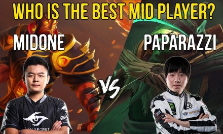 MidOne TOP 1 EU [Ember Spirit] vs Paparazzi TOP 1 China [Necrophos] – Who is the best mid player?
