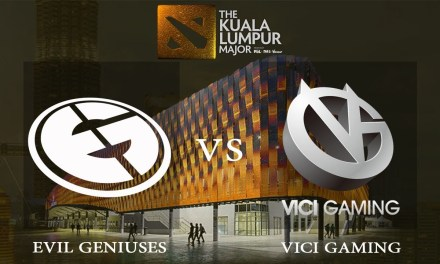 EG vs Vici Gaming game 1 – Group B Winners' Match, The Kuala Lumpur Major – Dota 2