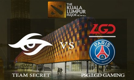 Team Secret vs PSG.LGD game 2 – The Kuala Lumpur Major, Upper Bracket R2 – Dota 2