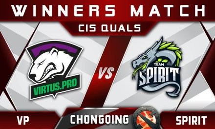 VP vs Spirit – Final Group A Chongqing Major 2018 CIS Highlights Dota 2