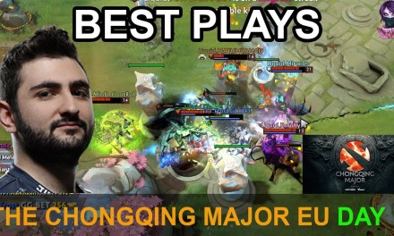 The Chongqing Major BEST PLAYS Qual EU Day 1 Highlights Dota 2 Time 2 Dota #dota2 #ChongqingMajor