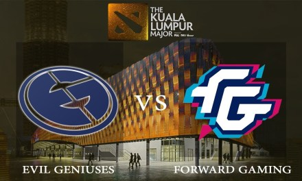 Evil Geniuses vs Forward Gaming game 2 – The Kuala Lumpur Major, Lower Bracket R2 – Dota 2