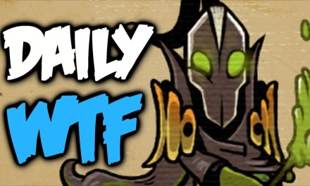 Dota 2 Daily WTF – How to play Rubick lesson 37#