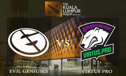 Evil Geniuses vs Virtus.pro game 1 – The Kuala Lumpur Major, Lower Bracket Finals – Dota 2