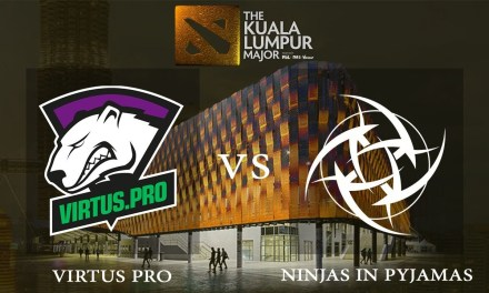 Ninjas in Pyjamas vs Virtus.pro game 2 – The Kuala Lumpur Major, Upper Bracket R2 – Dota 2
