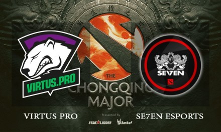 Virtus.pro vs Se7en game 2 – The Chongqing Major CIS Qual, Group A – Dota 2