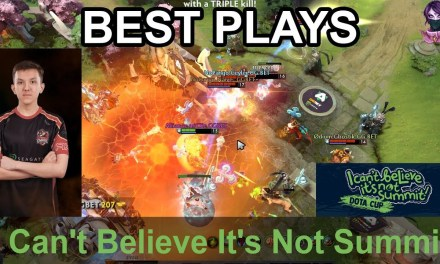 I Can't Believe It's Not Summit BEST PLAYS Day 1 Highlights Dota 2 Time 2 Dota #dota2