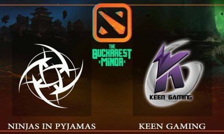 Ninjas in Pyjamas vs Keen Gaming game 3 – The Bucharest Minor – Dota 2