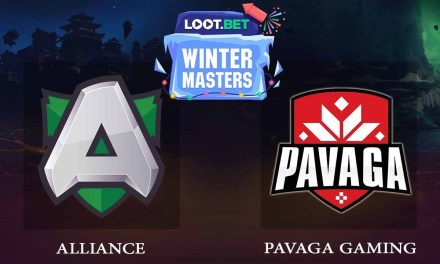 Alliance vs Pavaga Game 2 – LOOT.BET Winter Masters Grand Finals – Dota 2