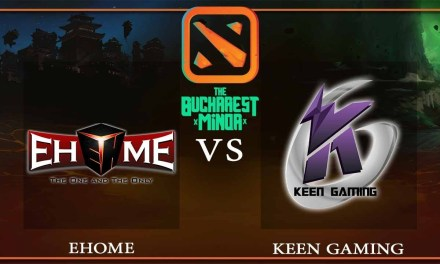 EHOME vs Keen Gaming Game 1 – The Bucharest Minor – Dota 2